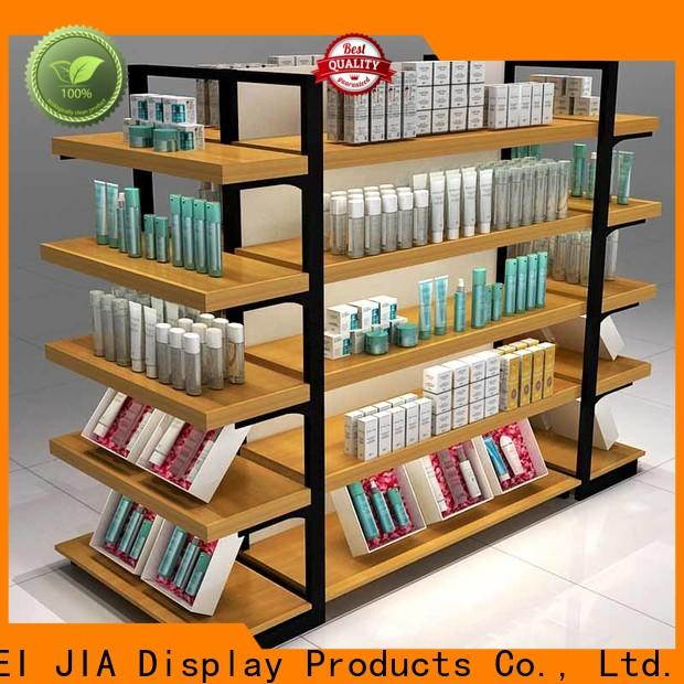 Wholesale beauty display units backside manufacturers for store
