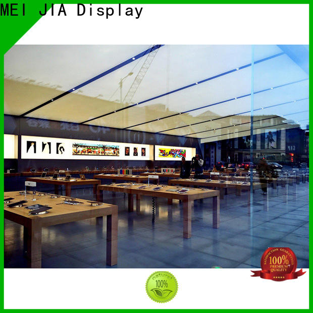 MEI JIA Display counter cell phone display case company for shop