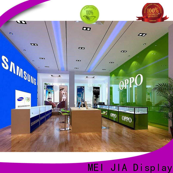 MEI JIA Display desgin mobile phone counter suppliers for store