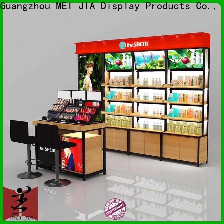 Custom makeup retail display counter supply for exclusive shop