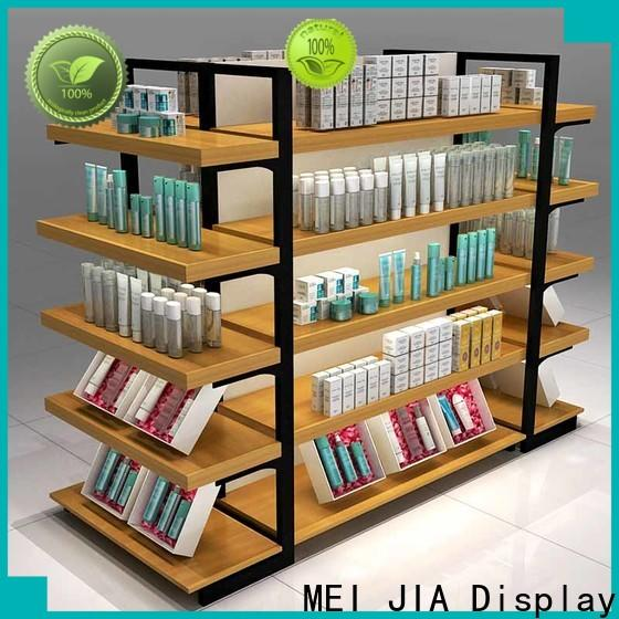 MEI JIA Display wood makeup display stand factory for store