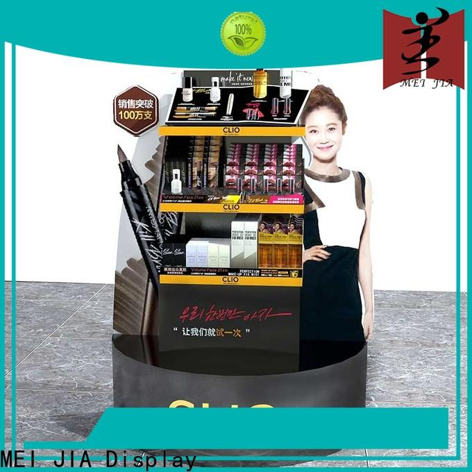 Best makeup retail display backside company for showroom