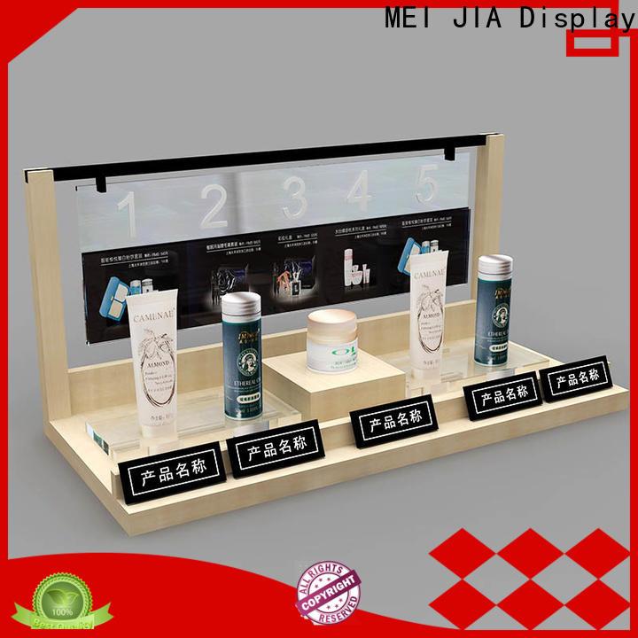 MEI JIA Display retail beauty display units company for shoppe