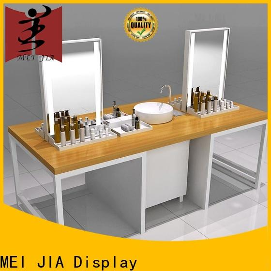 Custom beauty display stands table supply for store