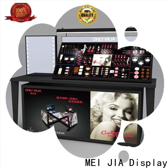 MEI JIA Display Latest makeup display stand factory for counter