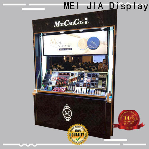 Wholesale retail makeup display stand wood factory for shop