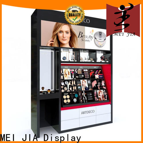 MEI JIA Display brand acrylic makeup display company for store