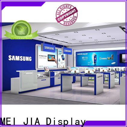 Custom mobile phone counter display factory for exclusive shop