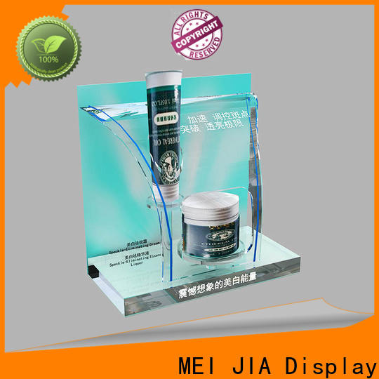 MEI JIA Display Top acrylic makeup display company for exclusive shop