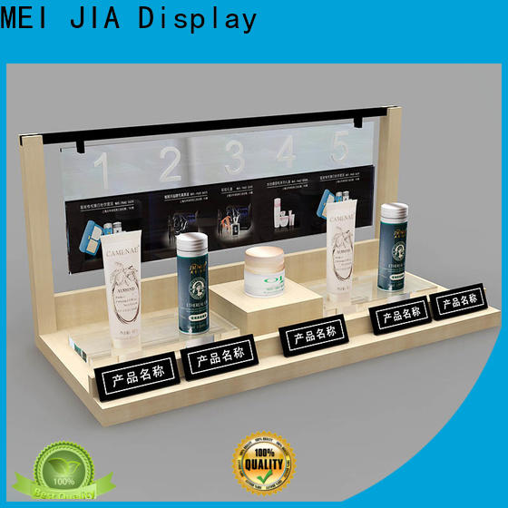 MEI JIA Display try cosmetic product display supply for showroom
