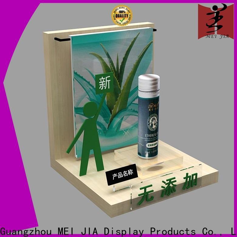 MEI JIA Display showcase acrylic makeup display suppliers for showroom