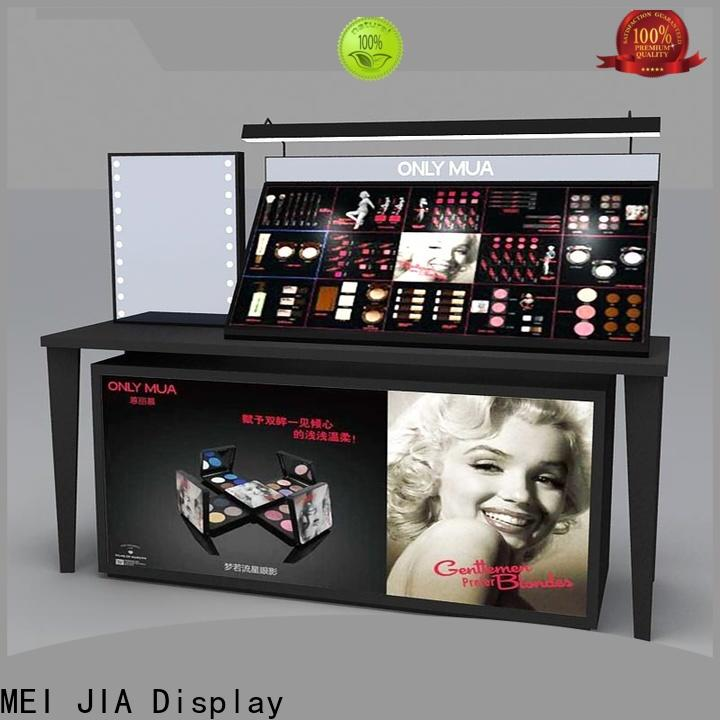 MEI JIA Display Best cosmetic display cabinet manufacturers for store