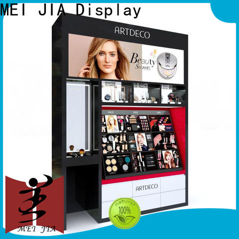 MEI JIA Display retail cosmetic display cabinet factory for shop
