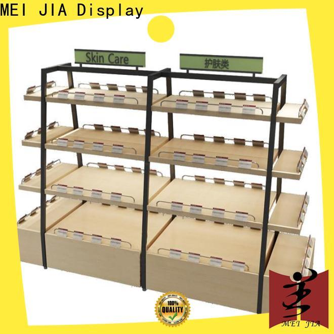 Top product display shelf for business for retail shop