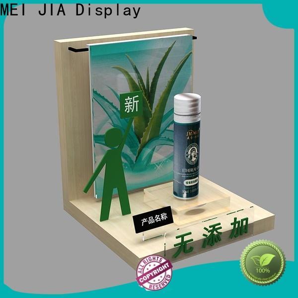 MEI JIA Display Custom acrylic makeup holder company for showroom