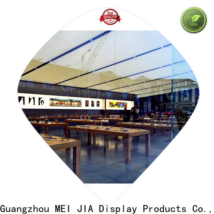 MEI JIA Display shop mobile phone counter factory for showroom