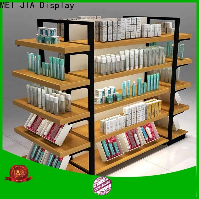 MEI JIA Display Custom acrylic cosmetic display stand supply for counter