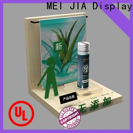 MEI JIA Display High-quality cosmetic display cabinet factory for counter