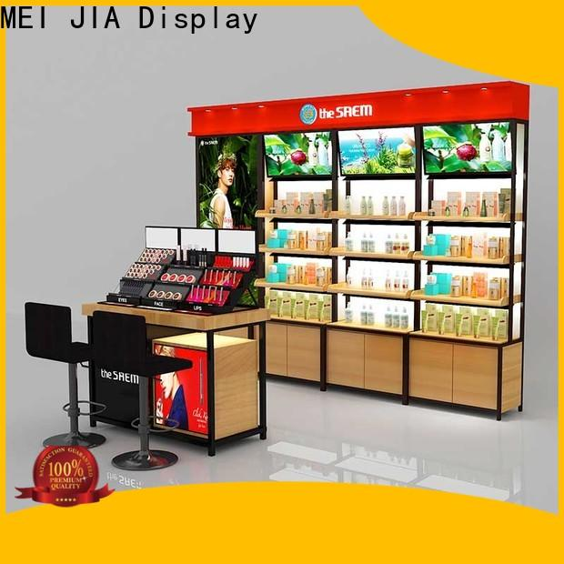 Latest cosmetic display cabinet display suppliers for store
