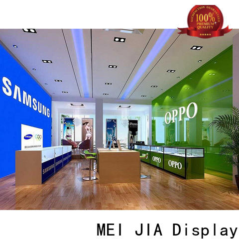 MEI JIA Display desgin mobile display counter factory for shoppe