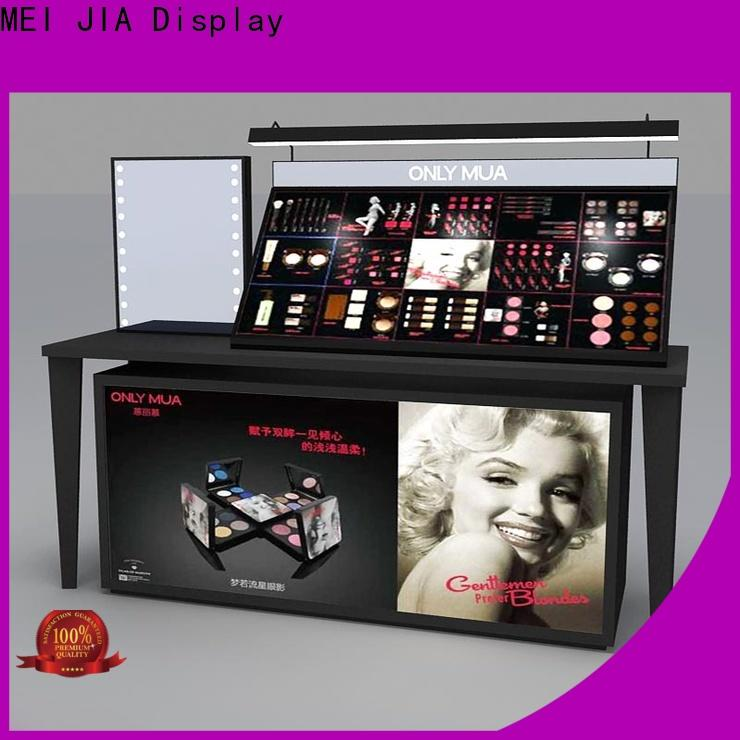 MEI JIA Display care makeup display stand manufacturers for showroom