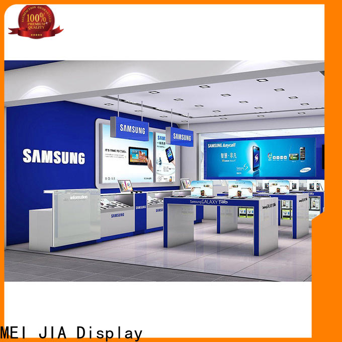 MEI JIA Display table cell phone display case suppliers for counter