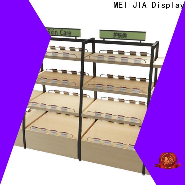 Latest product display shelf manufacturers for retail store