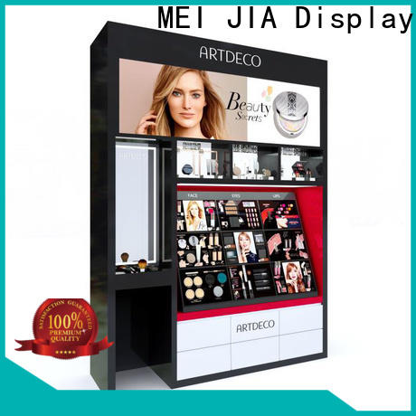 MEI JIA Display New acrylic cosmetic display stand factory for showroom