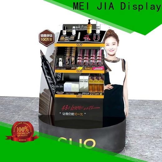 MEI JIA Display cabinet cosmetic product display suppliers for counter