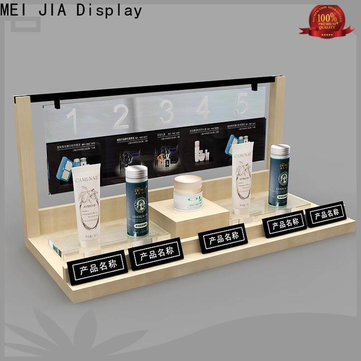 MEI JIA Display Custom acrylic makeup display supply for counter