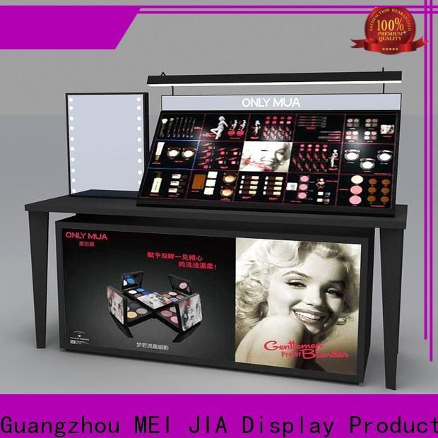 MEI JIA Display Custom retail makeup display stand manufacturers for showroom