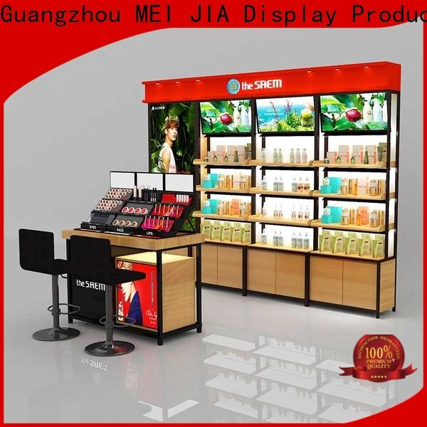 MEI JIA Display Top beauty display units supply for shoppe