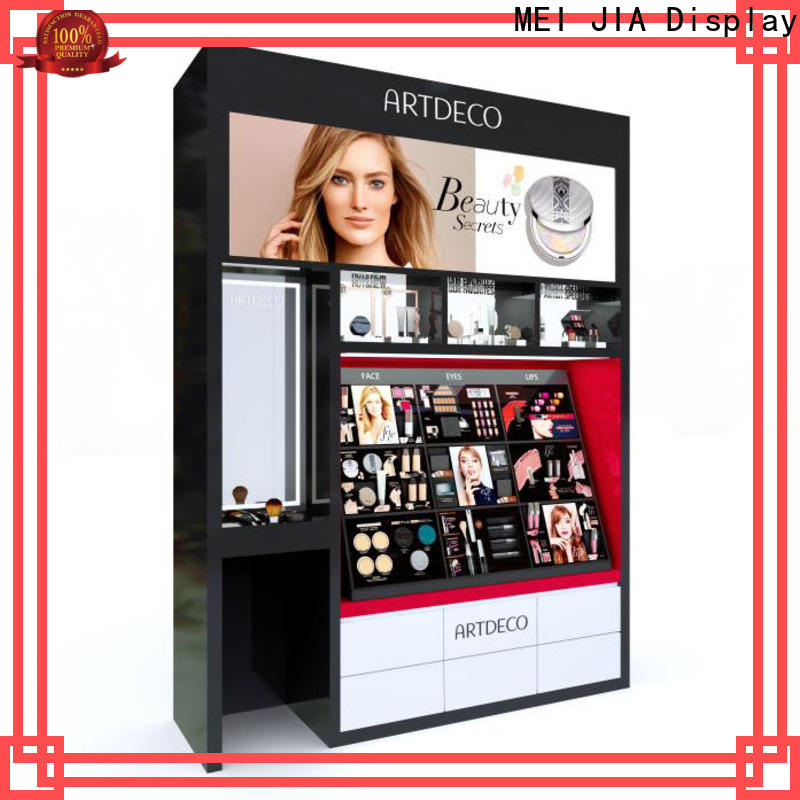 Latest beauty display stands wall manufacturers for counter