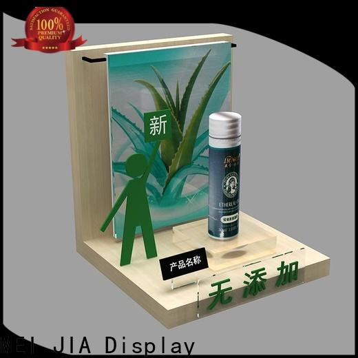 MEI JIA Display customized beauty display units supply for exclusive shop