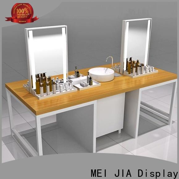 MEI JIA Display counter acrylic makeup display suppliers for exclusive shop