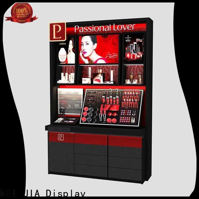 MEI JIA Display showcase cosmetics acrylic display factory for store