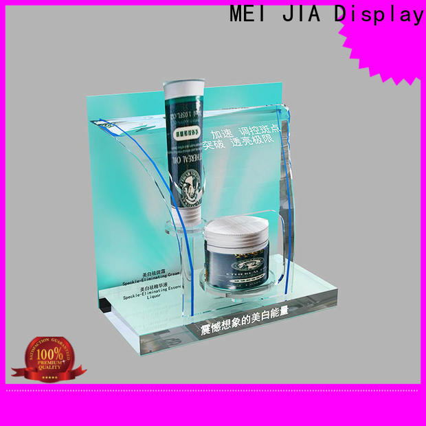 MEI JIA Display wood retail makeup display stand manufacturers for shoppe