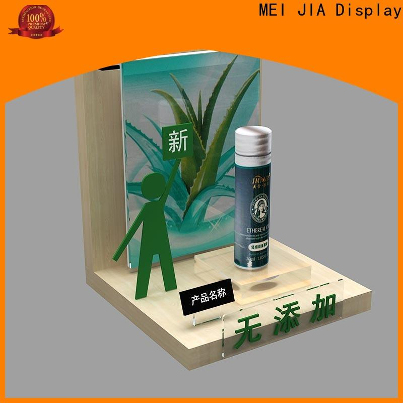 MEI JIA Display Latest cosmetic showcase manufacturers for counter