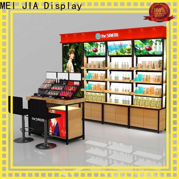 MEI JIA Display Best cosmetic display cabinet suppliers for shoppe