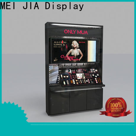 MEI JIA Display backside makeup display cabinet company for shoppe
