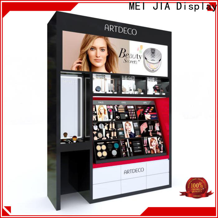 Best acrylic makeup display backside suppliers for store
