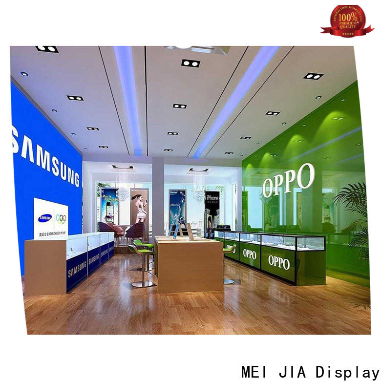 MEI JIA Display cellphone mobile display counter for business for showroom