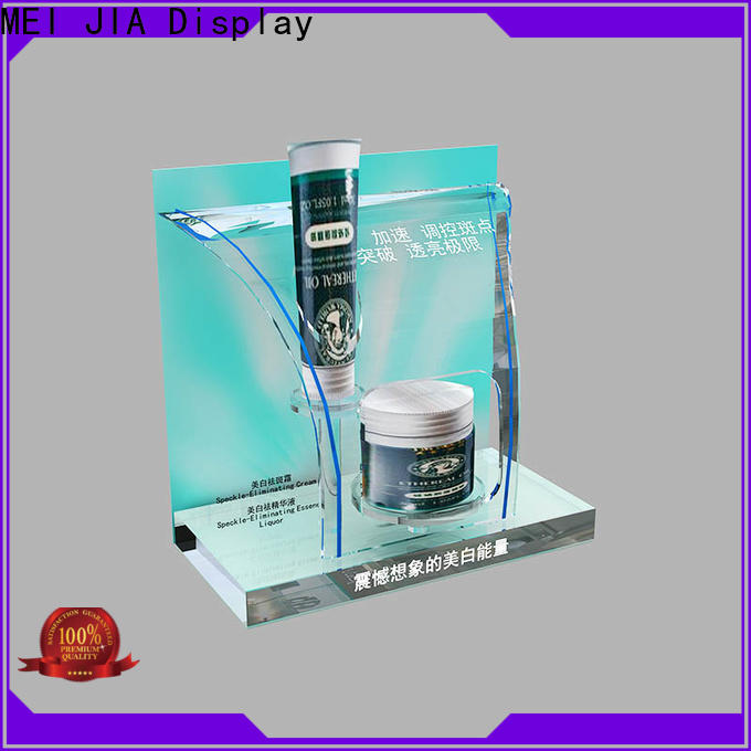 MEI JIA Display New retail makeup display stand factory for showroom
