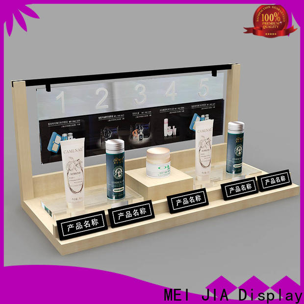 MEI JIA Display body cosmetic product display company for shop