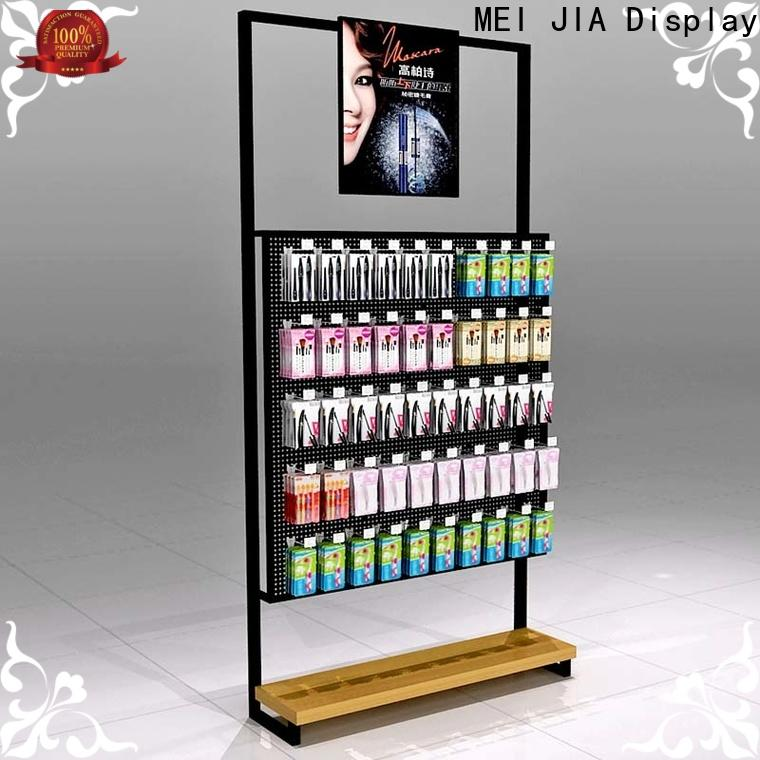 MEI JIA Display table retail makeup display stand supply for store