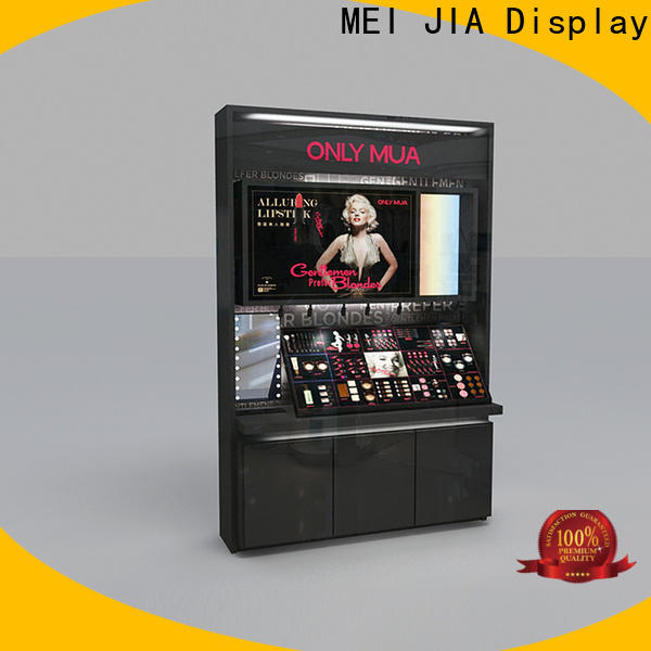 MEI JIA Display Custom acrylic makeup holder company for exclusive shop
