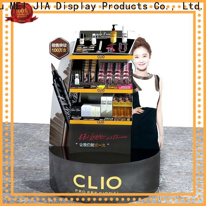 Latest makeup display cabinet hook factory for store