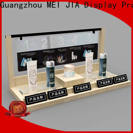 MEI JIA Display Latest cosmetic display cabinet manufacturers for showroom