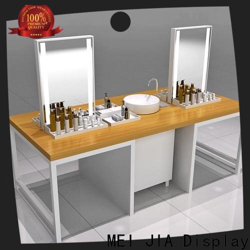 MEI JIA Display counter acrylic cosmetic display stand suppliers for shoppe