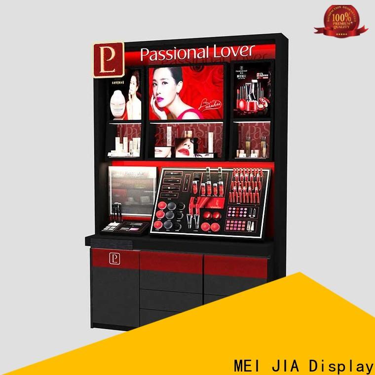 MEI JIA Display hook cosmetics acrylic display supply for exclusive shop
